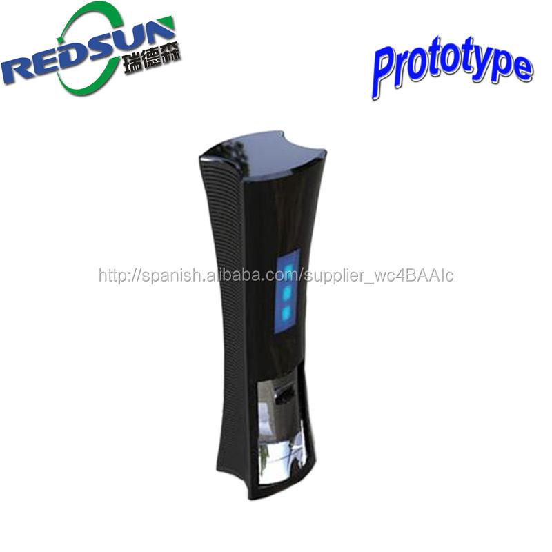 Un prototipo de plástico de diseño 3D