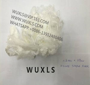 VSF viscose staple fiber model fiber 1.2d/1.4d 100% virgin white / colored spinning