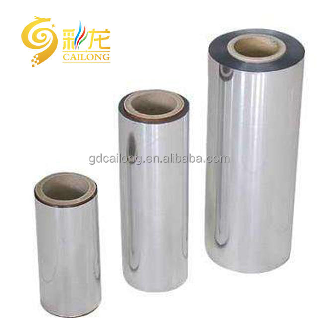 Metallized CPP Film Manufacturer for furniture protective and food grade packaging
