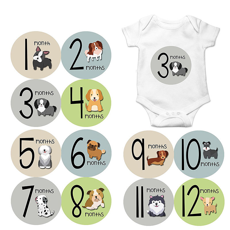 Baby Boy Bodysuit Clothing Dimensional 3d StickersScrapbooking