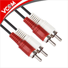 Hot Sale Best Price 2 RCA to 2 RCA Audio Cable Male to Male Factory Price