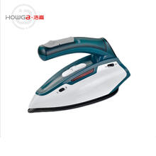 Electric plastic mini travel iron,steam iron for hotels