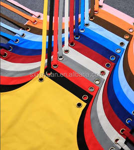 Eco-friendly and 100% recycle cotton Fabric cooking apron/high quality eco-friendly 100% cotton/canvas kitchen