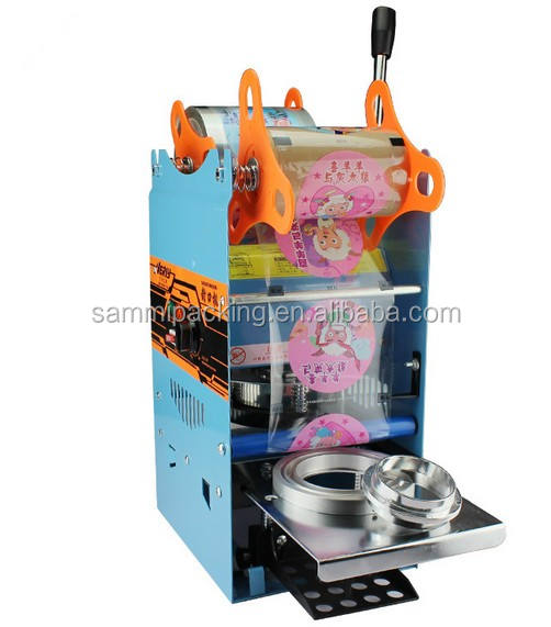 Easy To Operate Cup sealer machine,Milk Tea Cup Sealing Machine for Drink Package