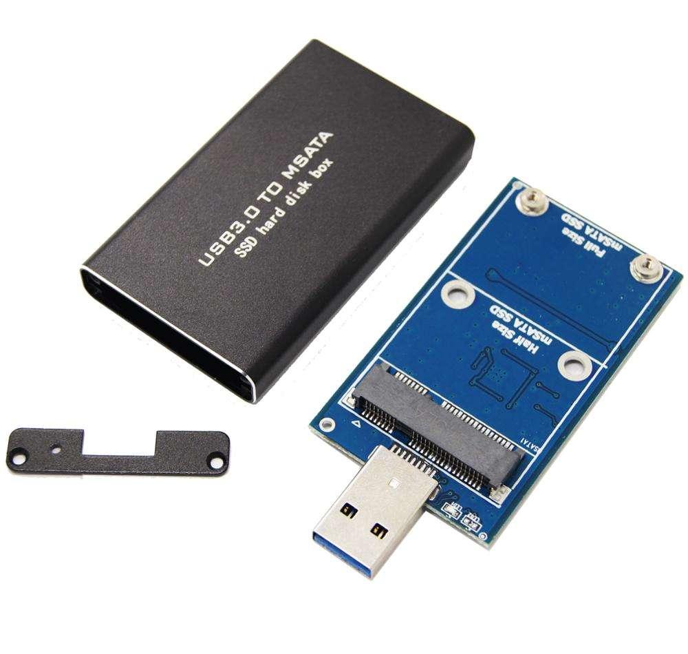 Meitk MSATA Inline USB 3.0 Mini PCIE MSATA SSD USB 3.0 HDD