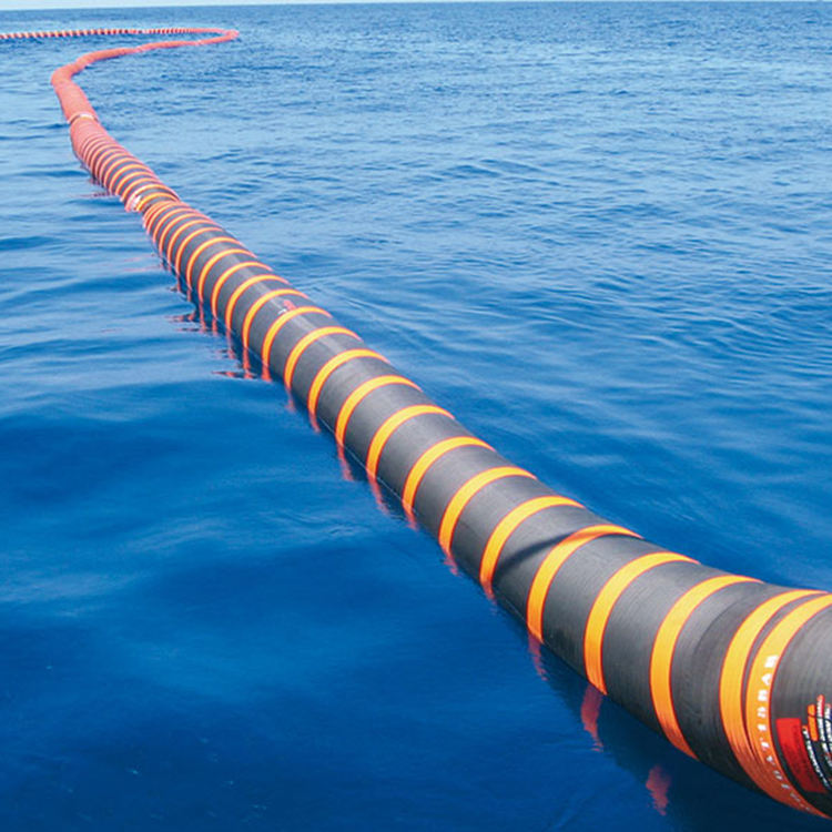 Floating sand suction solid mining flexible abrasion rubber dredging hose pipe