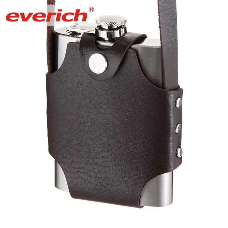 Everich 10 oz 14 once 16 once 304 in acciaio inox hip flask per custom