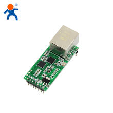 USR-T2  ethernet to ttl module serial UART TTL to RJ45 support HTTPD Client