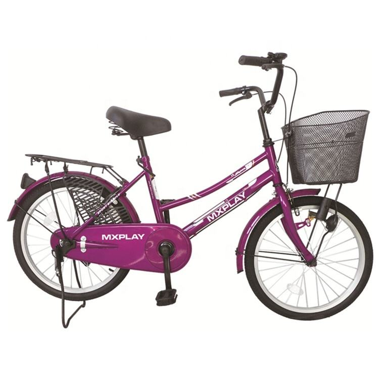 "Factory cheap price 26"" light weight City Bike Steel Women Road City Bicycle"
