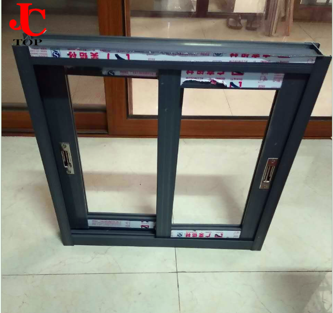 2019 good quality latest design double glazed small slide aluminum windows
