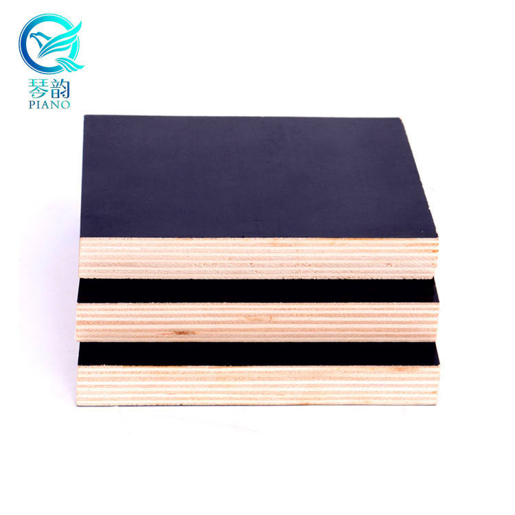 25mm Plywood 25mm 1250*2500MM Film Faced Plywood With Poplar Core WBP Gule /concrete Form Work Shuttering Plywood