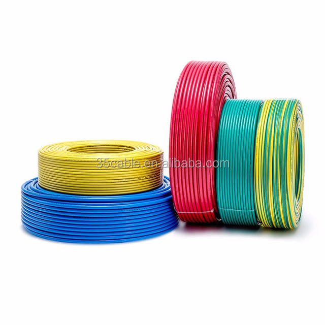 2.5mm 4mm 6mm 8mm awg PVC/PE/XLPE insulated copper conductor multi strand flat electrical wire
