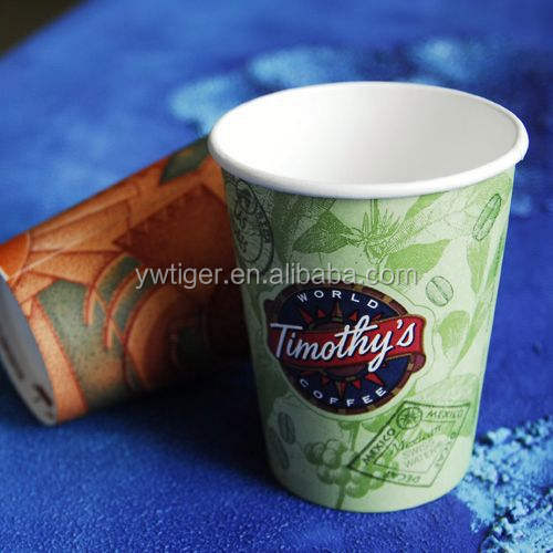 Fda Paper Espresso Cups 200ml Espresso Hot Cups Paper Cup For Hot Soup Customized Logo Printed Paper Cup