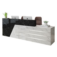 Factory customized modern office reception desk
