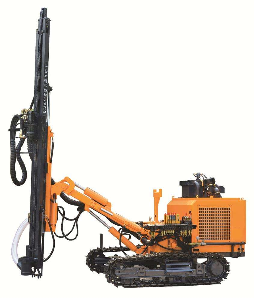 Chinese factory price KG320 DTH hard rock drilling borehole machine