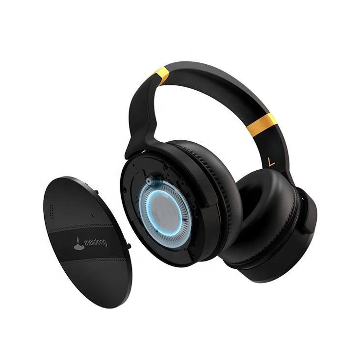 Heavy Duty Folding Noise Cancelling Wireless Headphones