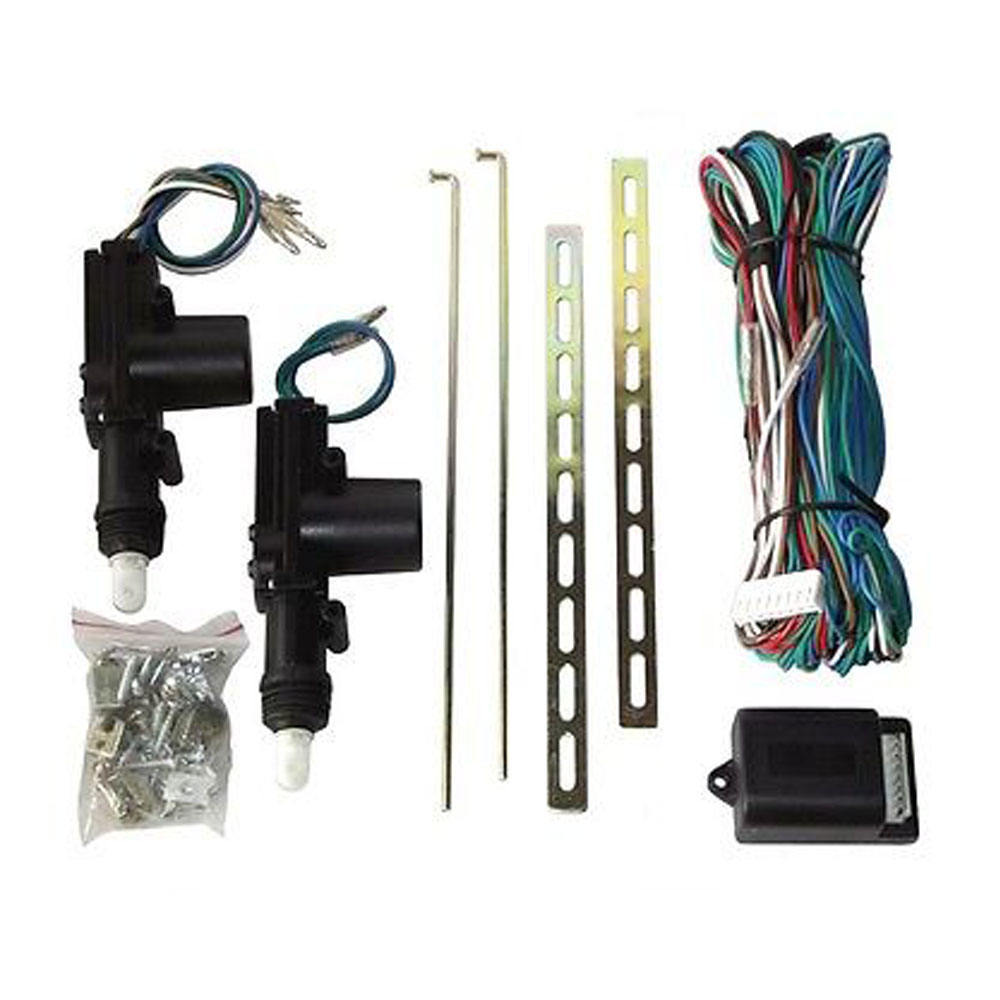 1 master and 3 slaves 12V vehicle central locking system power door lock actuator