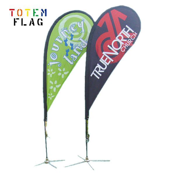 Tear Drop Flag for advertising beach flag
