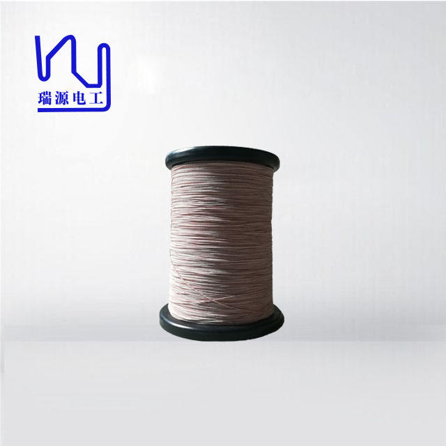 112 x 0.08 high frequency stranded silk covered litz wire