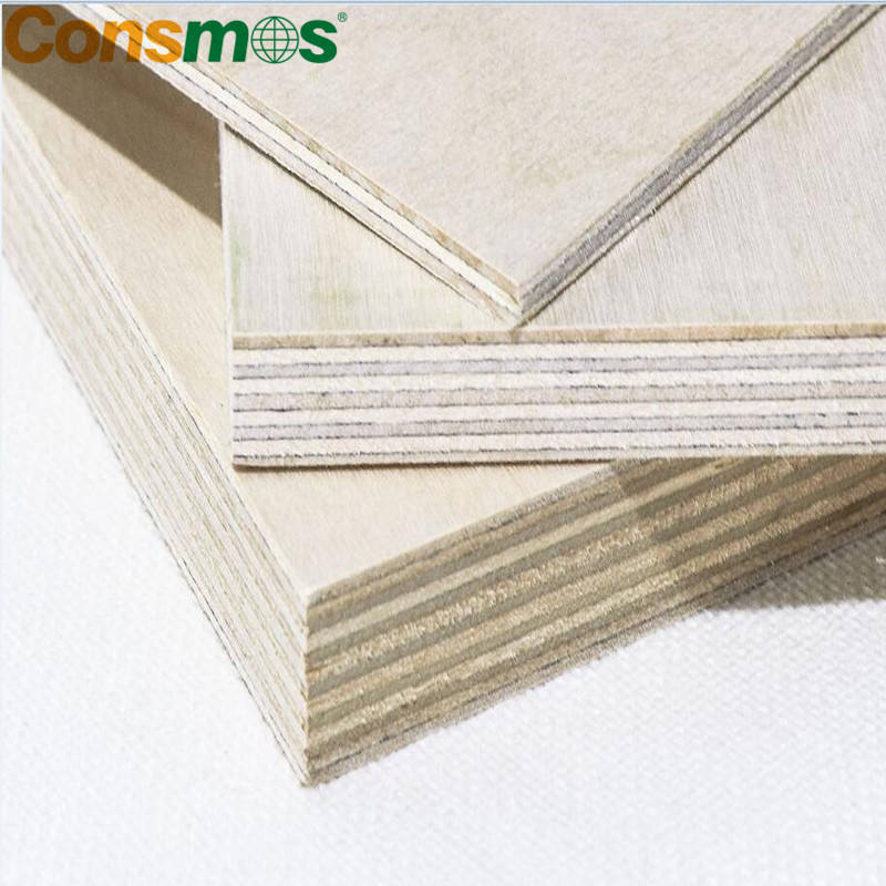 flat CNC die laser cut birch plywood 18*1220*2440mm