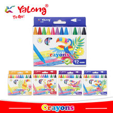 yl95087 wax crayon 12/24 colors can choose
