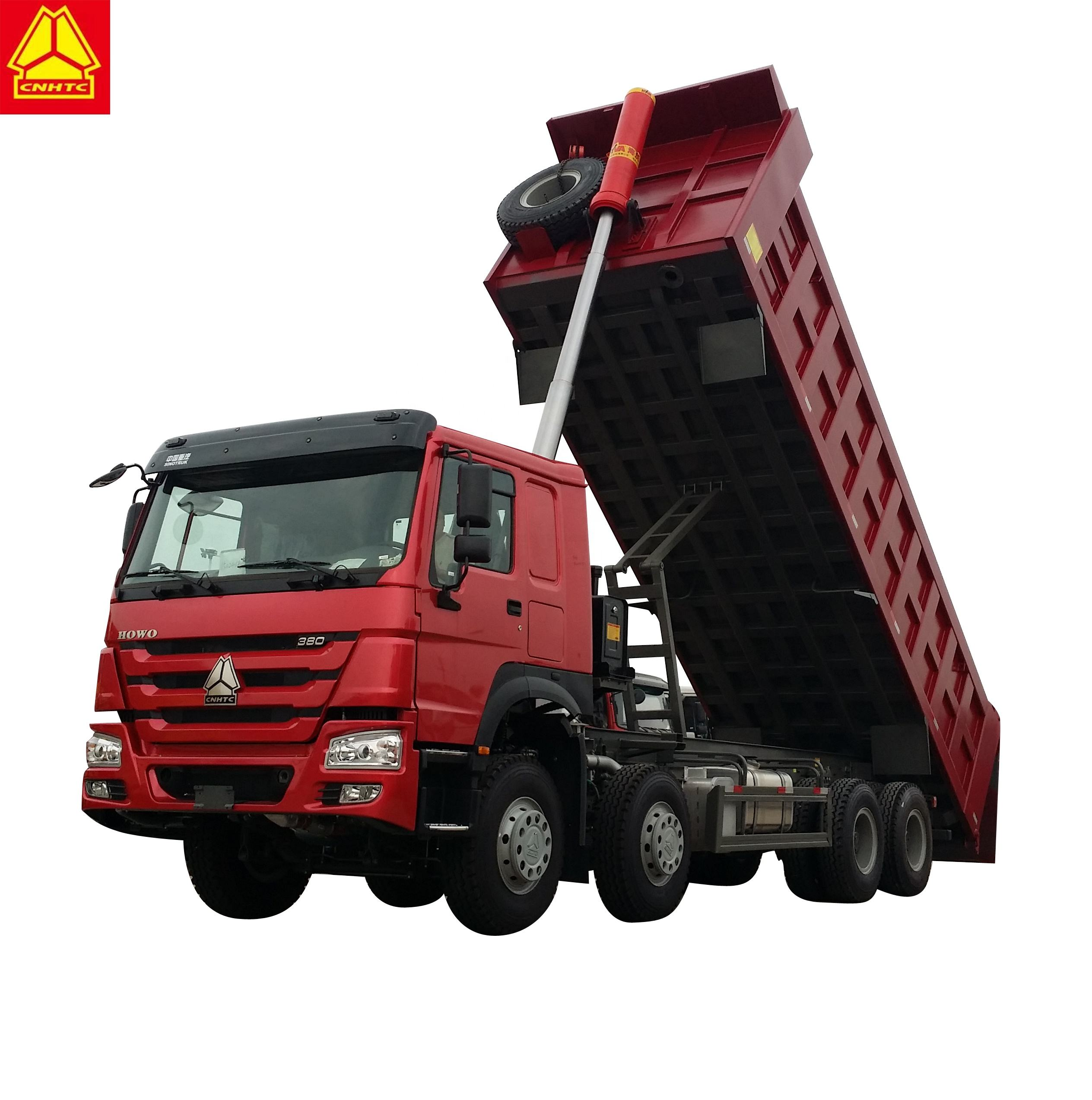 sinotruk howo 8x4 dump truck price for sale