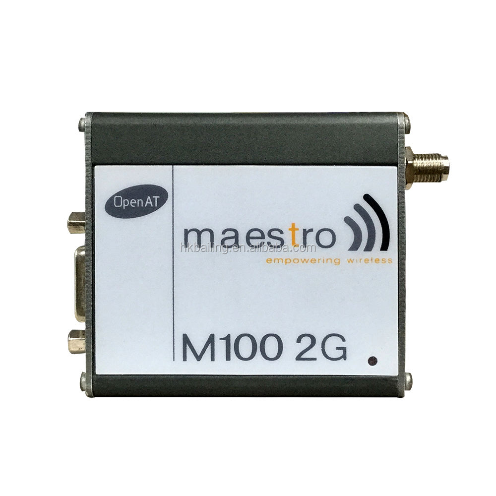 SMS Profesional Dongle GSM/GPRS Maestro M100 2G Modem RS232, Mendukung Perintah AT