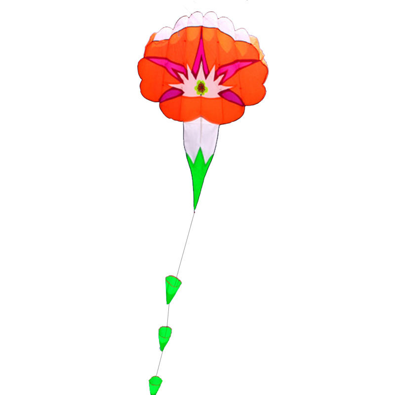 Factory price soft inflatable flower flying kite