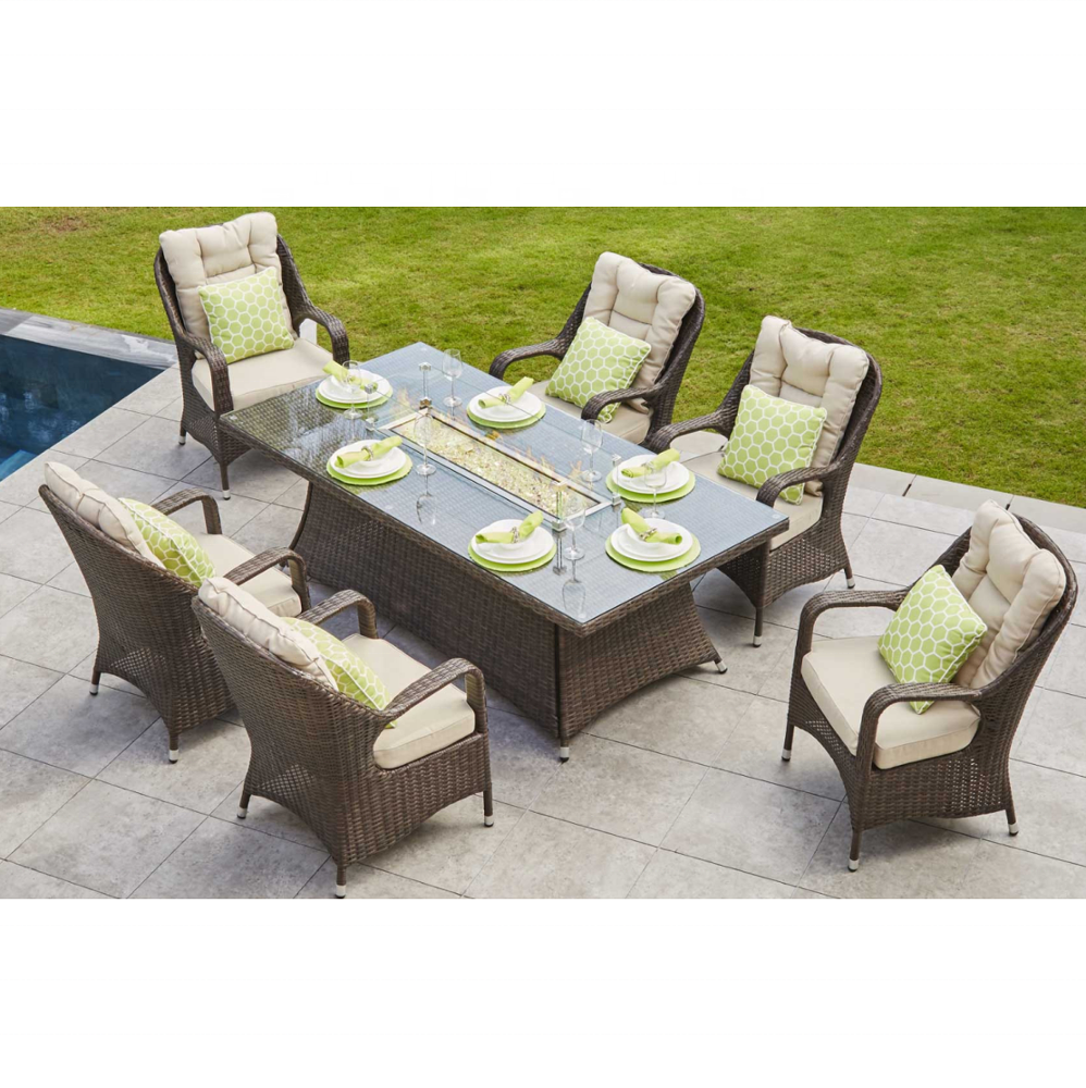 Outdoor Garden Rattan Furniture Dining Set best Selling Big Lots Outside Table and Chair Bistro Sets