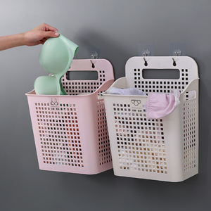Novelty unique home plastic laundry hamper for dirty cloth
