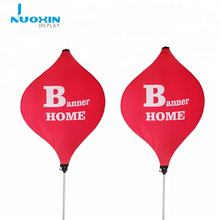High quality aluminium pole outdoor display banner decorative lantern banner