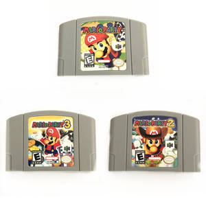 Mario party & mario party 2 & mario party 3 cho Nintendo 64 N64 retro video trò chơi