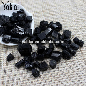 Wholesale Natural Black Tourmaline Raw Materials Precious Stones