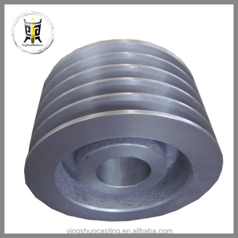 low price custom sand casting V belt pulley
