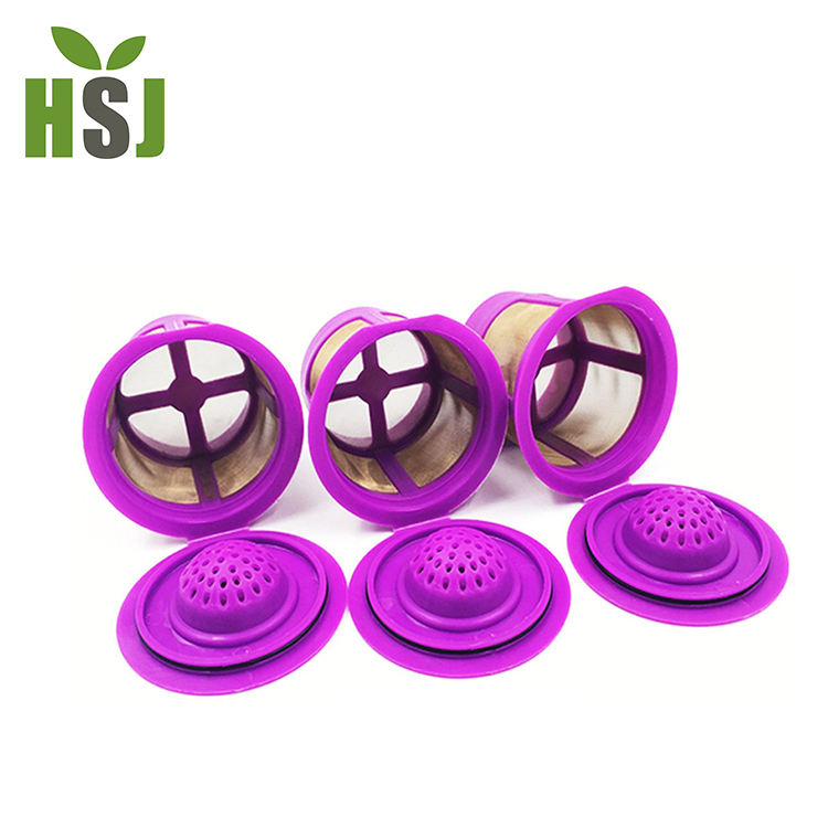 Different styles premium quality reusable coffee filter k cup 2.0