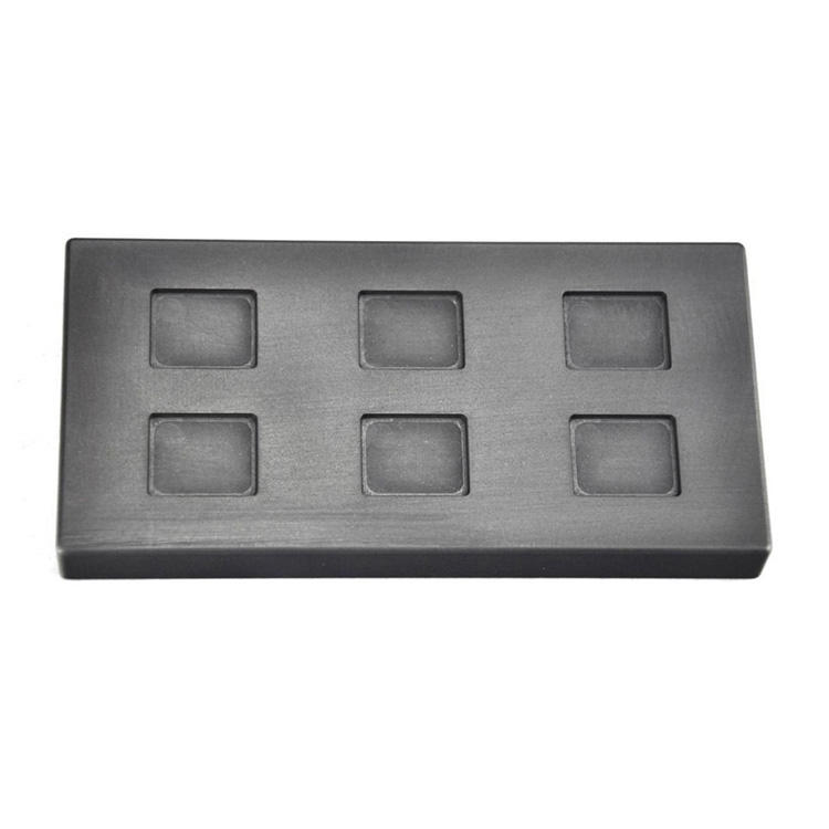 Gold and silver casting ingot graphite mold product