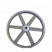 OEM Sand Casting Cast Iron Industrial Flywheel