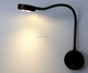 Bathroom Wall Light Led lighting fixtures Warm White silver black with on/off switch