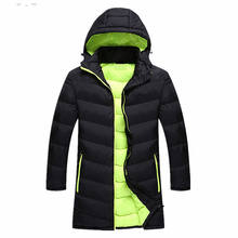 Cotton Padded Sport Heavy Soccer Sample Cheap Winter Jacket and Coats Men