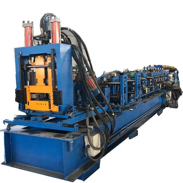 Metal Profile Roll Forming Equipment C Z Steel Purlin Forming Machine