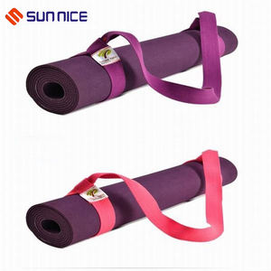 100% Cotton Organic Yoga Mat Carrying Strap