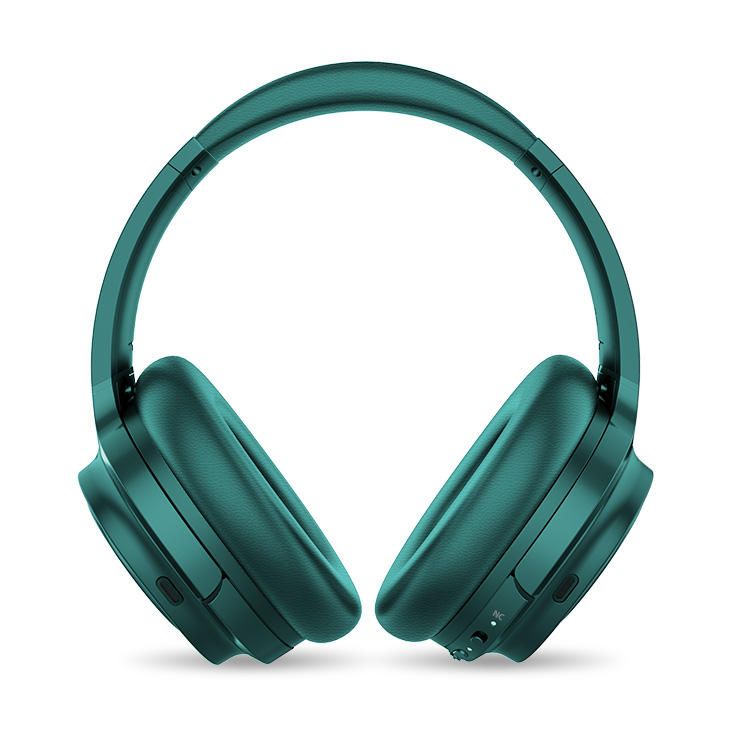 Inexpensive Products Market Green Headset for Laptop with Mic
