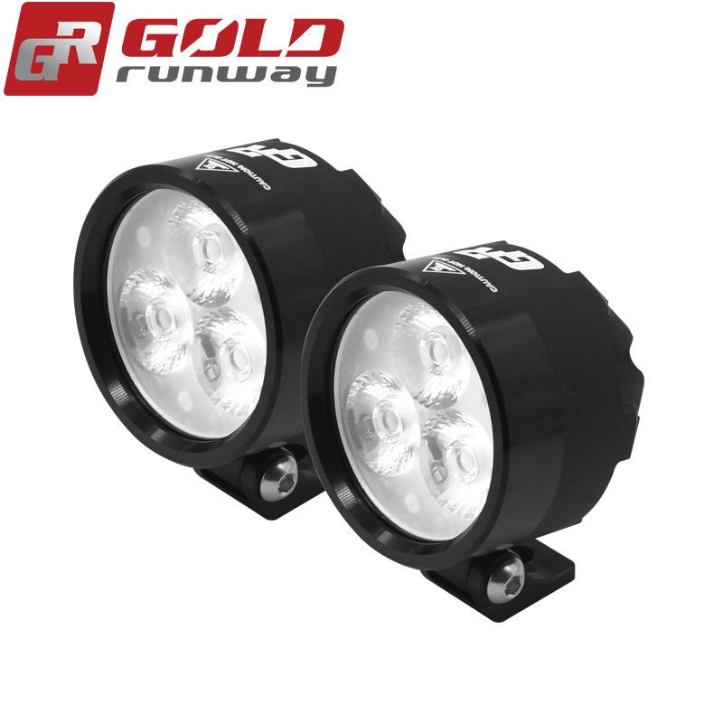 Goldrunway GR-EXP3 2400 Lumen LED 18W CNC Machined Motorcycle LED FOG light lamp