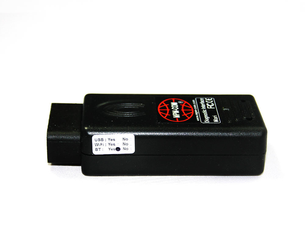 MPM-COM interface bluetooth adaptador de diagnóstico do carro scanner de diagnóstico auto com software MaxiECU
