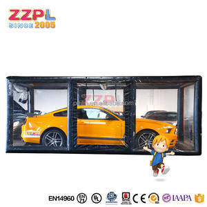Best selling waterproof car capsule vehicle showcase,inflatable car garage tent for sale