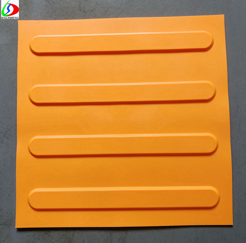 Rubber Tactile Tiles Pedestrian Tiles Tacktile Systems for visually impaired people