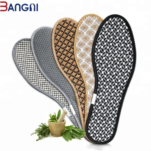 3ANGNI High Quality Anti-biotic Breathable Light Weight Deodorization Insoles for Men Shoes