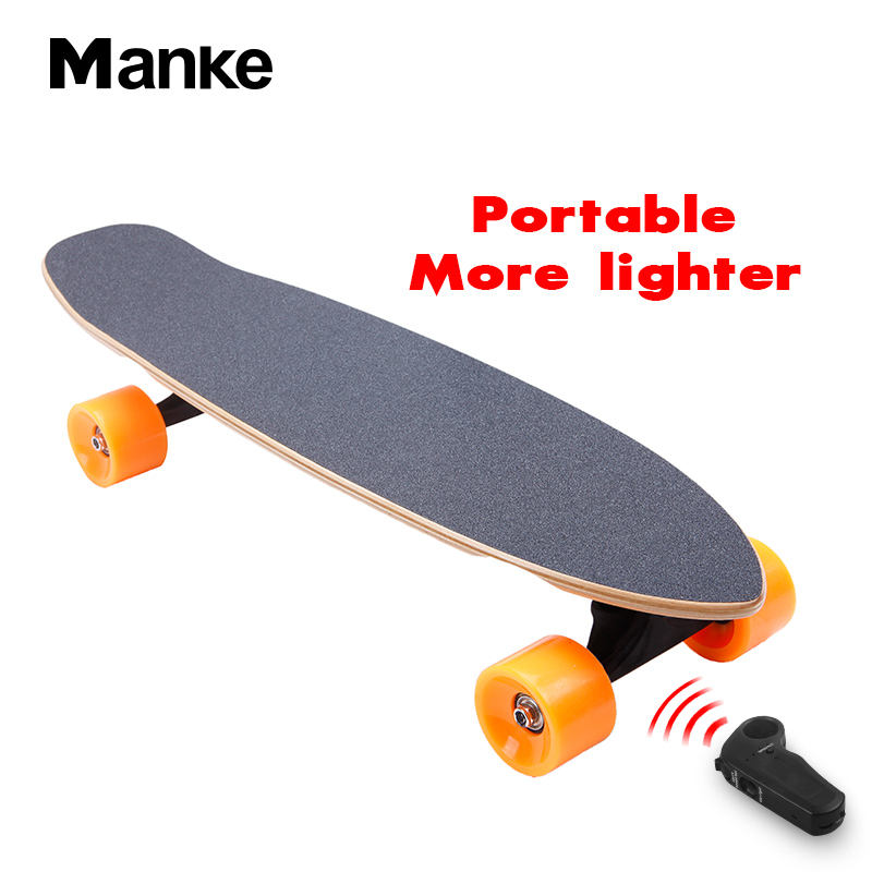 Manke 2.2A mini Fish Shape cute electric balancing skateboard Good quality Easier Carry for Promotion Price