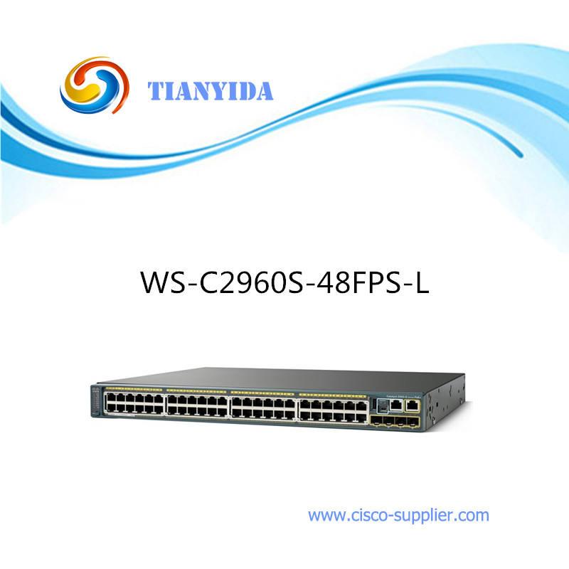 سيسكو تكويم WS-C2960S-48FPS-L طبقة 2 الألياف البصرية التبديل
