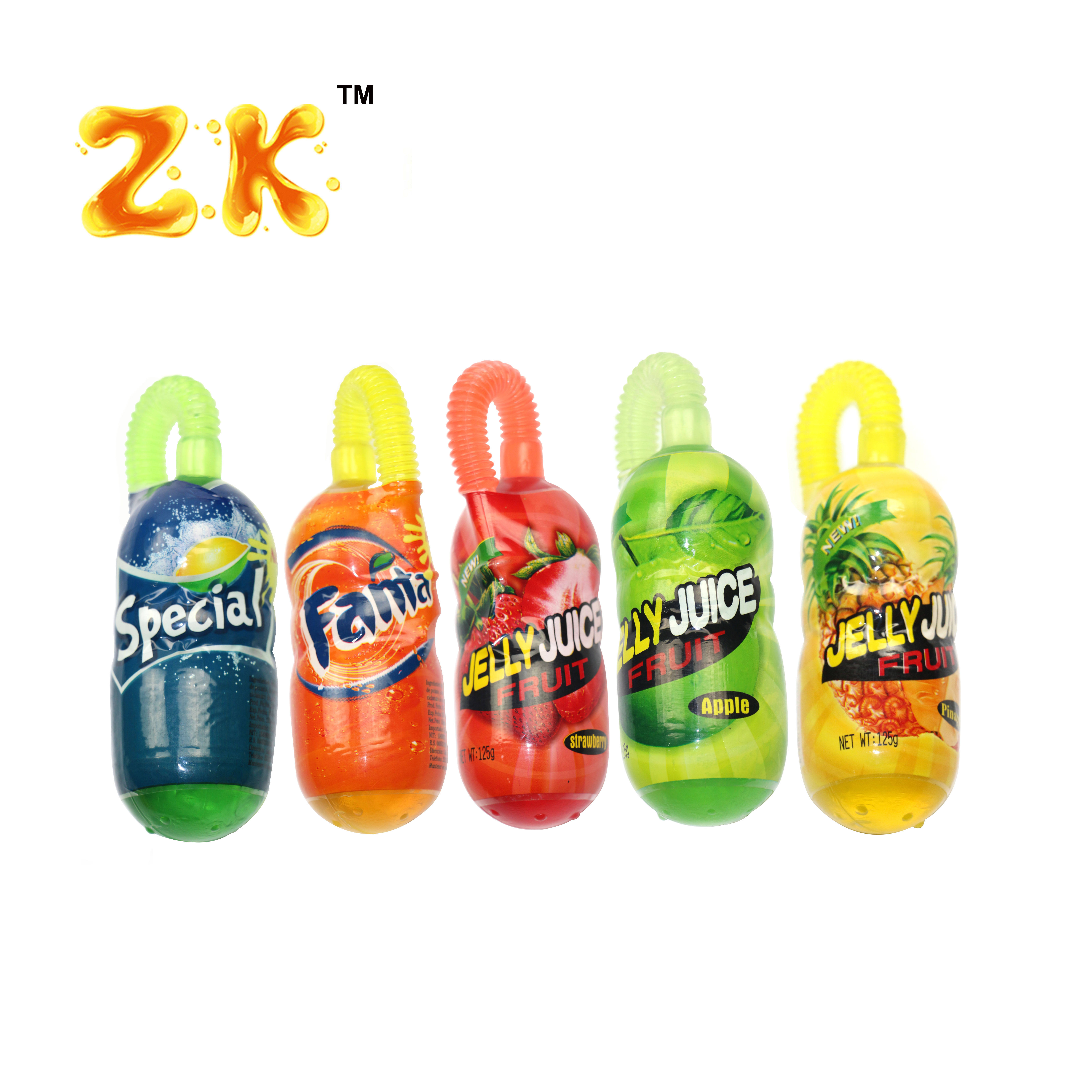 Brand names of juice jelly drinks flavour mixed fruit